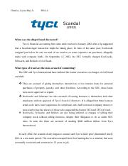 Tyco scandal.docx