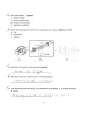 Biomed: Measurements and Instruments Quiz 6