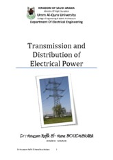 Transmission and Distribution of Electrical Power - 3 Electric Transmission Line Parameters_2