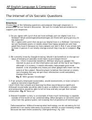 The Internet of Us Socratic.docx
