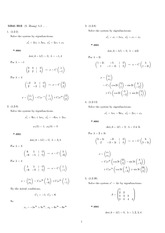 Homework 12 Solution Fall 2007 on Differential Equations with Linear Algebra 1
