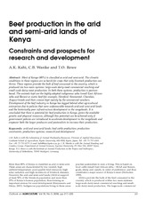 Kahi, Wasike and Rewe-Outlook on Agriculture-offprints