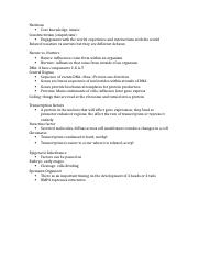 Quiz 1 Review Notes