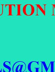Solution Manual For Optical Fiber Communications 4th Edition By Gerd