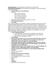 NURS 3120 Intestinal Diseases Notes
