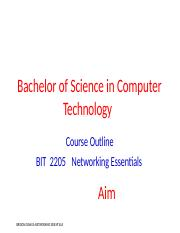 BIT 2205 Networking Essentials Course Outline-2.docx
