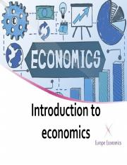 Intro to Economics.ppt