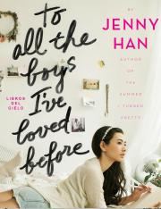 Copia de To All The Boys I've Loved Before - Jenny Han