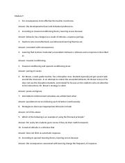 Classical Conditioning Study Resources
