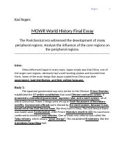 MOWR World History Final Essay.docx