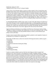 Courtroom observation paper