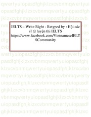IELTS – Write Right