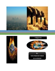 Global warming [2011A2PS020P]