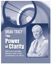Brian Tracy - The Power of Clarity.pdf