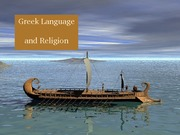 06 Greek Language and Religion revised 012011