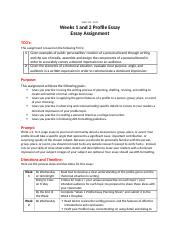 Weeks 1 and 2 Profile Essay Assignment Sheet (1).docx