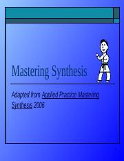 Mastering_Synthesis.pptx
