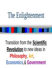 Chapter 29 - Enlightenment Notes 2009-10.ppt