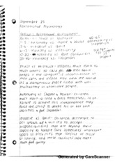 Erikson's Pyschosocial Development Notes
