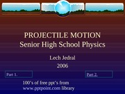 PROJECTILE MOTION 12Opt