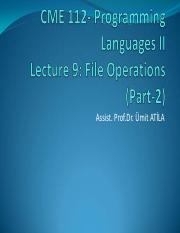 CME 112_Lecture-9_FileOperations_2.pdf
