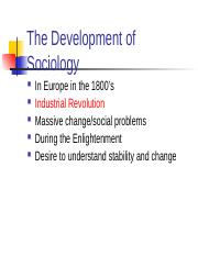 Development+of+Soc+and+Theories
