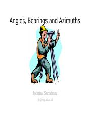 Course08-Angles, Bearings and Azimuths-jack.ppt