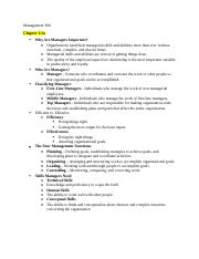 managemnt notes chapter 2.docx