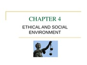 MGNT  3600 CH 4 Ethical and Social Environment