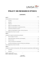 Policy+on+Research+Ethics+-+Unisa