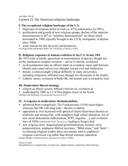 CULTR&BLF 20 Spring 2013 Lecture Outline 22