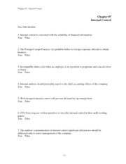 chapter 7 internal-control
