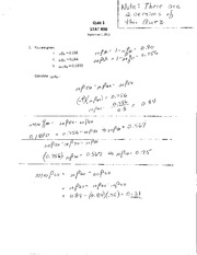 STAT 490 F11 Quiz 1 Solutions