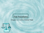 Trial Procedure slides