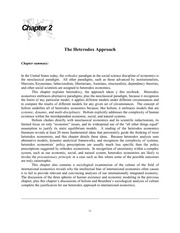 international economics chapter 2