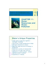 Chapter11 water resource