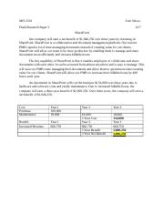MIS 2501 - Flash Research Paper 3
