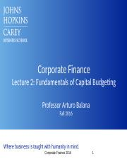 Lecture 2_Capital Budgeting_Balana (1).pptx