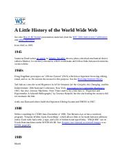 A Little History of the World Wide Web.docx