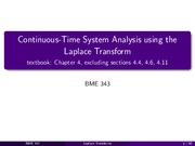 CH 04 -Laplace Analysis of Continous Time Systems ed