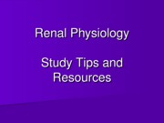 Study Tips and Resources 2011