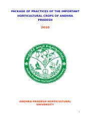 Package of Practices in Important Horticultural crops of A.P..doc