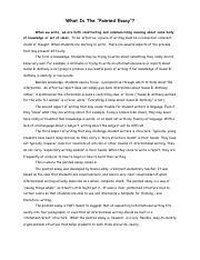 Past winning scholarship essays