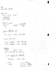 Lecture Notes - Probability