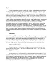 Critical thinking Discusson #2.docx