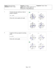 (MAT105 -Intro 2 Cllge Math) Wk 2 Qz Qstns (Chptr2-Graphs & Functions)