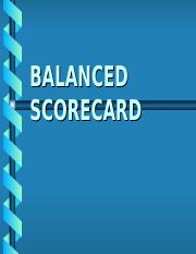 14 BSC Balanced Score Card para HABILIDADES GERENCIALES.ppt