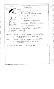 324_Mechanics Homework Mechanics of Materials Solution