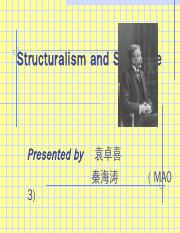 Structuralism and Saussure.ppt