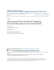 The Integrated Networks Model- Explaining Resource Allocations in.pdf